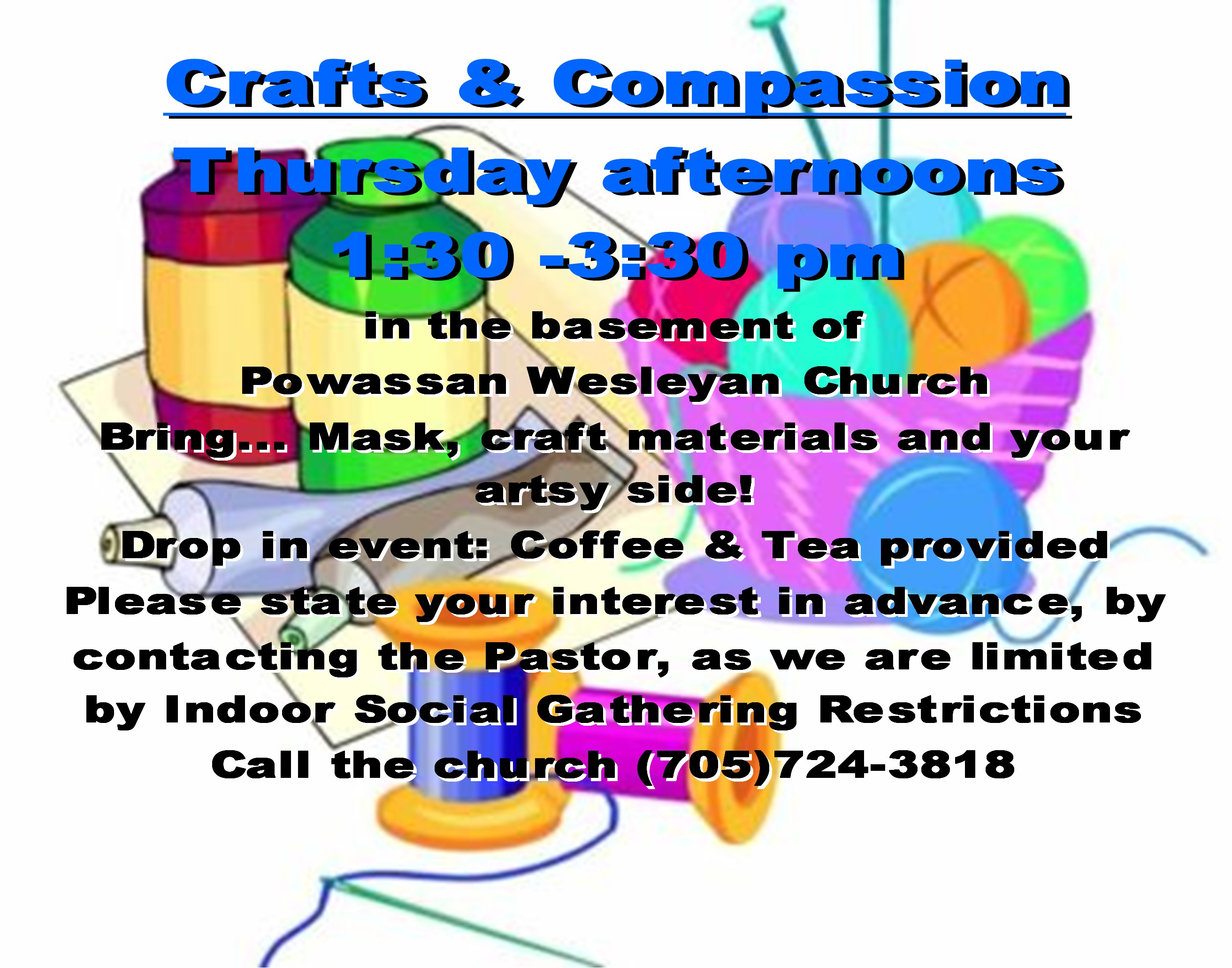 Crafts and Compassion slide